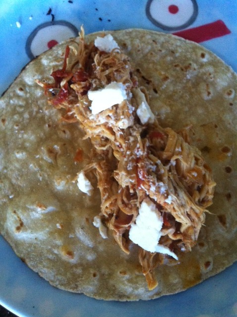 Braised Chicken Tacos